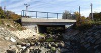 M60 Most cez potok Krivé pred obcou Bogliarka
