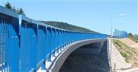 M9561 Most nad ulicou Tačevská na obchvate Bardejova