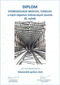 Hydroizolácie mostov, tunelov a iných objektov inžinierskych stavieb