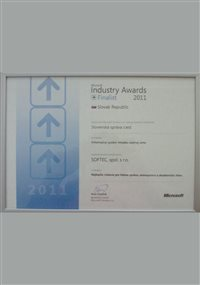 Microsoft Industry Awards 2011